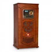 Auna Musicbox, jukebox, lemezjátszó, CD lejátszó, BT, USB, SD, FM tuner, fa (BX - Musicbox)
