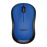 Miš Logitech Wireless Mouse M220 Silent, Optički, USB wireless, plava, 24mj, (910-004879)