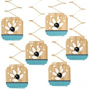 Strike Up The Fun - Bowling - Birthday Party or Baby Shower Hanging Decorations - 6 Count