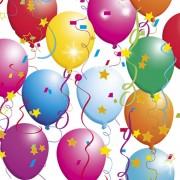Lunchservet Party Ballons
