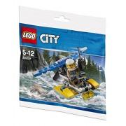Lego (Lego) Mountain of Police Seaplane (Mini Set) 30359