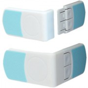 Futaba Cabinet Cupboard Drawer Child Safety Door Lock - Blue - Pack of 2