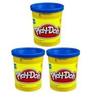 (3 Pack) Blue (23858) Hasbro Play-Doh 5 oz. (15 oz. total)