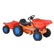 Tractor Cu Pedale Pentru Copii Hecht 51412 Cu Remorca