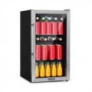 Klarstein Beersafe 3XL, hűtőszekrény, italokra, 98 liter, 4 csúsztatható polc, 7 szint, fekete (HEA13-Beesafe-3XL)