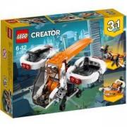 Конструктор Лего Криейтър - Безпилотен изследователски самолет, LEGO Creator, 31071