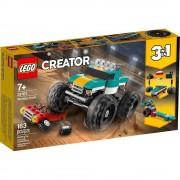 Lego set de construcción lego creator camioneta monstruo 31101