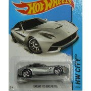 Hot Wheels HW City Ferrari F12 Berlinetta - Silver
