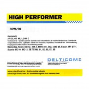 High Performer 80W/90 GL4/5 Transmission oil 1 Litre Can