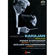 Herbert Von Karajan: Mozart - Violin Concerto No. 5/Dvorak - Symphony No. 9 [DVD] [1966]