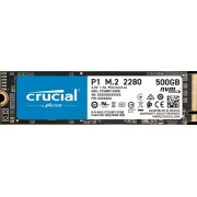 Crucial SSD Crucial P1 500 Go 3D NAND M.2 NVMe PCIe