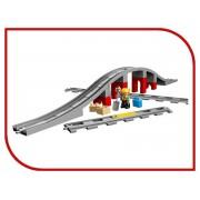 Lego Конструктор Lego Duplo Железнодорожный мост 10872