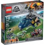 Lego Klocki konstrukcyjne LEGO Jurassic World Pościg za śmigłowcem 75928