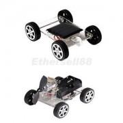 Alcoa Prime 2pcs Solar Powered Car&Wind Turbine Car Kit Science Educational Toys for Kid