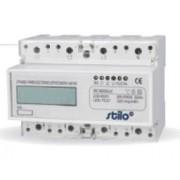 Almérő háromfázisú 3x20(100)A digitális, sínre 7 modul Stilo