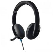 Logitech Słuchawki z mikrofonem Logitech H540 USB czarne