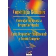 Constitutia Romaniei. Conventia Europeana a Drepturilor Omului ed.8