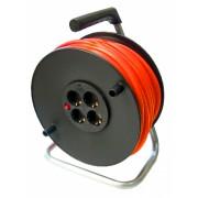 Prelungitor pe tambur 50 m, cablu 2.5 mm,