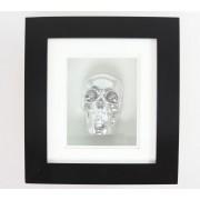 kép Silver Skull In Frame - B0330B4