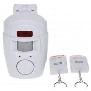 Prenosný alarm 95db s dvomi diaľkovými ovládačmi