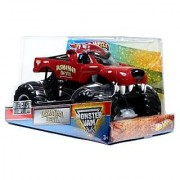 Hot Wheels Monster Jam 1:24 Scale Die Cast Metal Body Official Monster Truck 2012 Series #W3369-098B : TASMANIAN DEVIL with Monster Tires Working Suspension and 4 Wheel Steering (Dimension : 7 L x 5-1/2 W x 4-1/2 H)