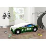 Pat Tineret Race Car 07 Army 140x70 - MyKids