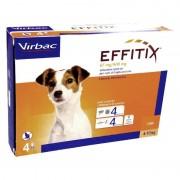 Effetix Effitix Cani Dai 4 - 10 Kg 4 Pipette