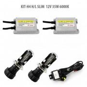 Kit Xenon H4 H/L SLIM 12V 35W 6000K, Carguard