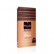 Capsule Nicola Cafes Kenya Single Origin, compatibile Nespresso, 10 capsule