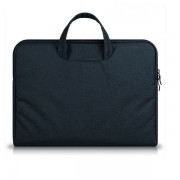 Geanta laptop Tech-Protect Briefcase Macbook 12 / Air 11 inch Navy Blue