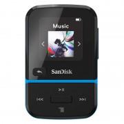 SanDisk Clip Sport Go MP3 32GB Preto/Azul