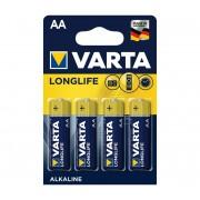 Varta 4106 - 4 buc Baterii alcaline LONGLIFE EXTRA AA 1,5V