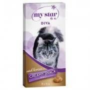 24x15g Mout Creamy Snack My Star is a Diva Kattensnack