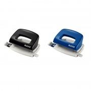 Perforator Leitz 5058 NeXXt Series, 10 coli albastru