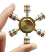 Hexagon Thor Rainbow Fidget Spinner