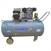 Compresor aer Stager HM-V-0.25/250 250 litri 8 bari