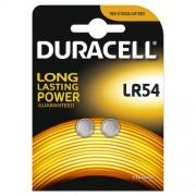 2 Batterie LR54 Alcaline 1,5V Duracell Electronics