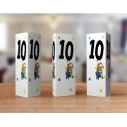 Numere de masa cu Minioni - Design original doar pe Tulpa.ro