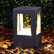 Lampenwelt.com Luminaire pour socle LED Nicola rectangulaire IP54 - LAMPENWELT.com