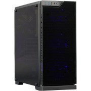 Cooltek TG-01 - RGB Midi-Toren Zwart computerbehuizing