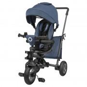 Lionelo - Tricicleta multifunctionala cu sezut reversibil, pliabila, Tris, Jeans