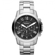 Fossil Chronograph Black Dial Mens Watch - Fs4736
