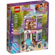 Set de constructie LEGO Friends Atelierul de arta al Emmei