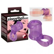 You2Toys Sleeve & Ball Ring Purple 0513644