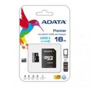 SDHC ADATA MICRO PREMIER 16GB (2in1) UHS-I CL10 AUSDH16GUICL10-RA1