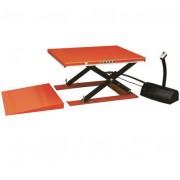Rolléco Table élévatrice électrique avec rampe 1000 kg niveau constant L. 1140 x l. 1600 mm