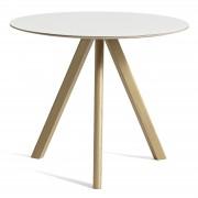 Copenhague CPH20 runder Tisch Eiche/Weiß 90 cm Hay