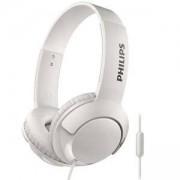 Philips слушалки с микрофон, цвят: бял, SHL3075WT