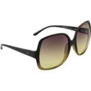 United Colors of Benetton Wayfarer Sunglasses(Violet)
