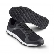 Mjuk arbetssko i sneakersmodell Svart/Vit (40)